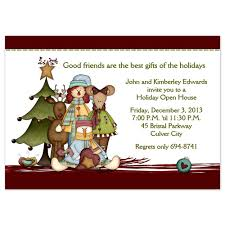 christmas party invitations country christmas design printed country christmas party invitation
