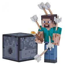 <b>Minecraft Фигурка</b> Steve with Arrows 8 см - Акушерство.Ru