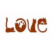 Die Cut Love <b>Word</b>
