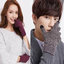 Men's Gloves & Mittens <b>1 Pair Men Women</b> Winter Warm Fleece ...