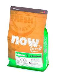 <b>Сухой корм</b> для котят <b>NOW</b> FRESH Grain Free индейка, утка ...