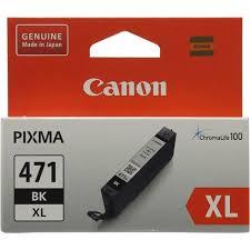 Оригинальный <b>картридж Canon CLI</b>-<b>471BK</b> XL (экономичный ...