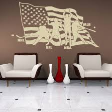 sun wall decal trendy designs: american sports sport wall decal by style and apply products sports wall decals and decals
