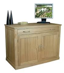 baumhaus mobel oak hidden home office desk baumhaus hidden home office