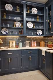 painted blue kitchen cabinets house:  southern living idea house designed by bunny williams in charlottesville virginia middot navy blue kitchen cabinetsnavy
