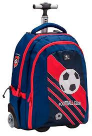 <b>Belmil Рюкзак на колесах</b> Easy Go Football Club Red (338-45/661 ...