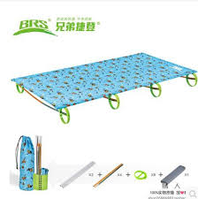 childrens outdoor lightweight aluminium alloy folding bed camp bed office nap camping portable folding bed camp bed office