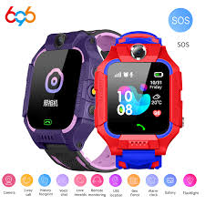 Q19 Kids <b>Smart Watch</b> LBS Location Waterproof Smartwatch Kids ...
