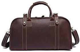 GY Leather <b>Travel Bag</b>, Men's <b>Portable Short</b>-<b>distance Travel</b> Light ...