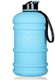 SOCOO 1.0-2.2L Water Bottle Motivational Workout ... - Amazon.com