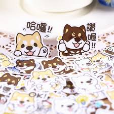 [In stock] <b>40 Pcs</b> Adorable <b>Corgi</b> Sticker Packs | Shopee Singapore