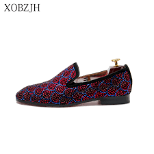 <b>XOBZJH</b> 2019 Shoes <b>Male</b> Loafers Summer <b>Men</b> Luxury Prom ...
