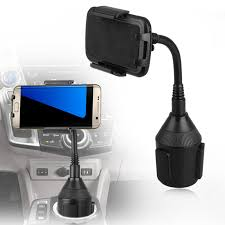 <b>Universal Car Mount Adjustable</b> Gooseneck Cup Holder Cradle ...
