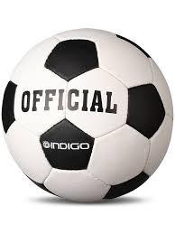 <b>Мяч</b> футбольный <b>Indigo Official Indigo</b> 4225946 в интернет ...