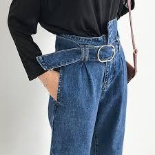 Women Fashion <b>Boyfriend</b> Jeans Streetwear Loose <b>Harem Jeans</b> ...