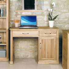 mobel solid oak single pedestal computer desk baumhaus mobel solid oak corner