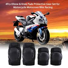 <b>4Pcs Elbow Knee Pads</b> Guard Protector Protective Gear <b>Set</b> ...