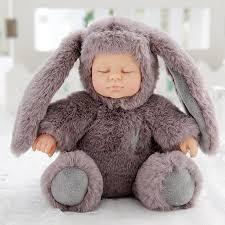 11 inch <b>Real Life Reborn Babies</b> Doll Soft Silicone Realistic Long ...