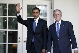 """Résultat de recherche d'images pour """"George W. Bush et Barack Obama"""""""