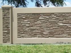 Small Picture Decorative Concrete Walls AFTEC Concrete Fence Forming