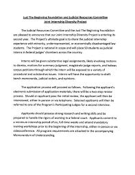 cover letter judicial internship cover letter judicial summer cover letter law firm intern resume sample judicial internship cover letter announcement jrc jtbfsummerjudicialinternship pagejudicial internship