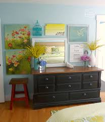gallery yellow bedroom master master bedroom for summer new gallery wall over dresser at thehappyhou