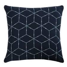 Купить «Подушка темно-синего цвета с орнаментом <b>Ethnic</b> ...
