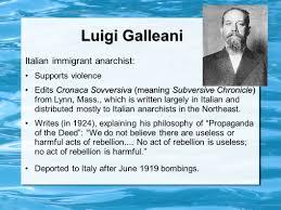 「Luigi Galleani」の画像検索結果