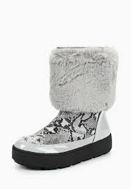 <b>Полусапоги</b> LOST INK GABRIEL GREY FUR TOP <b>MOONBOOT</b> ...