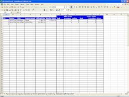 attendance calendar excel templates employee detail