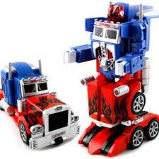 <b>Радиоуправляемый робот</b>-<b>трансформер</b> Bambi Optimus Prime ...
