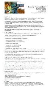 cameraman resume resume cover letter gallery of cameraman resume sample