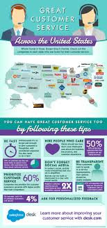 awesome customer service around the u s infographic com awesome customer service around the u s a