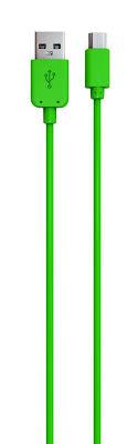 Red Line <b>кабель</b> USB-<b>microUSB</b>, <b>Green</b> (1 м) — купить в интернет ...