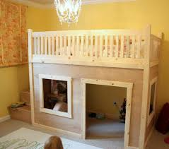 playhouse bed plans bunk beds toddlers diy