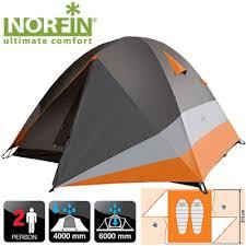 <b>Палатка</b> алюминиевые дуги <b>2</b>-х местная <b>Norfin BEGNA 2</b> NS-10305