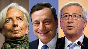 Risultati immagini per troika europea