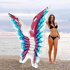 Xiangtat Inflatable Pool Float, Angel Wings Inflatable ... - Amazon.com