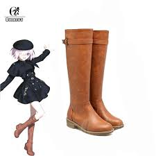 ROLECOS <b>Fate Grand Order Matthew</b> Kyrielite Cosplay Shoes Girl ...