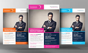 corporate business flyer template flyer templates on creative market business corporate flyer template