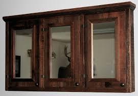 wood bathroom mirror digihome weathered: wood bathroom medicine cabinets with mirrors digihome