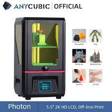 <b>ANYCUBIC Photon SLA 3D</b> Printer UV Resin 2K LCD 3D Printers ...