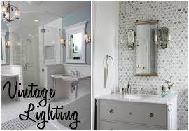 funky bathroom lights: vintage bathroom lighting to update your space