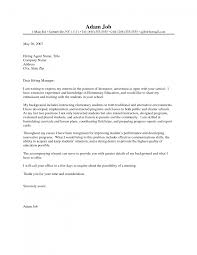 example cover letter teacher template example cover letter teacher