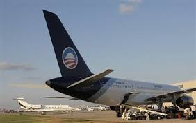 Image result for obama logo on jet plane pics