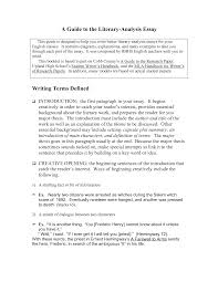 literary essay examples for middle school literature essays bestweb samples of an argumentative essay literary essay examples for rd brefash literary research