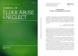 sociology department news sociology college of liberal arts the journal of elder abuse neglect dedicated a