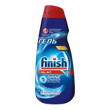 <b>Гель для посудомоечных машин</b> FINISH All in 1, 1л — купить в ...