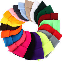 autumn winter beanie hat womens knitted wool skullies with crystal casual cap solid color hats for