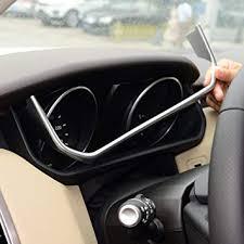 ABS Chrome Plastic Car Dashboard U Shape ... - Amazon.com